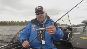 Trolling Cranks for Suspended Summer Walleyes