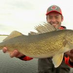 Shiver Minnow Cadence on Leech Lake in the Fall