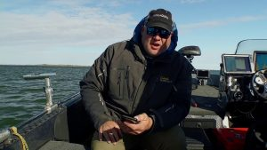 Trolling for Huge Lake Trout Using the Precision Trolling Data App